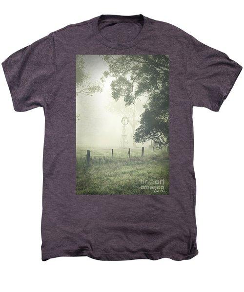 Winter Morning Londrigan 9 Men's Premium T-Shirt by Linda Lees