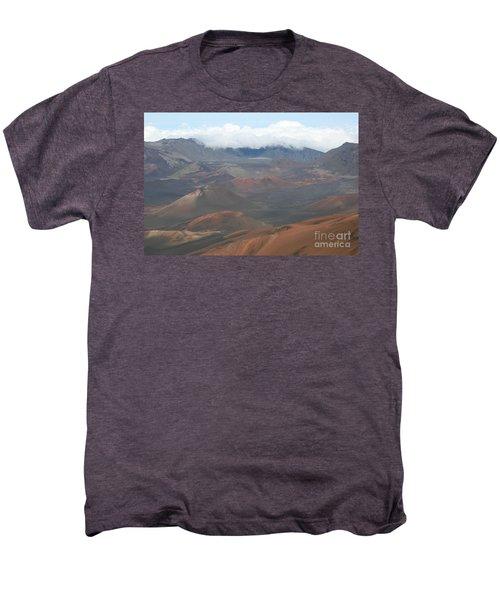 Haleakala Volcano Maui Hawaii Men's Premium T-Shirt by Sharon Mau