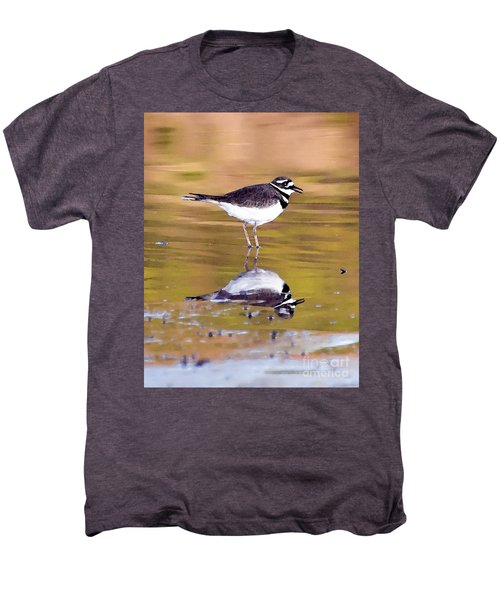 Killdeer Reflection Men's Premium T-Shirt
