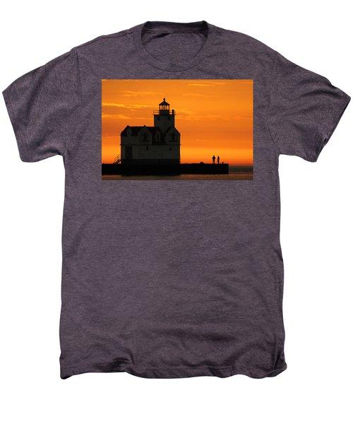 Morning Friends Men's Premium T-Shirt by Bill Pevlor