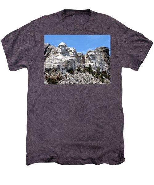 Mount Rushmore Usa Men's Premium T-Shirt