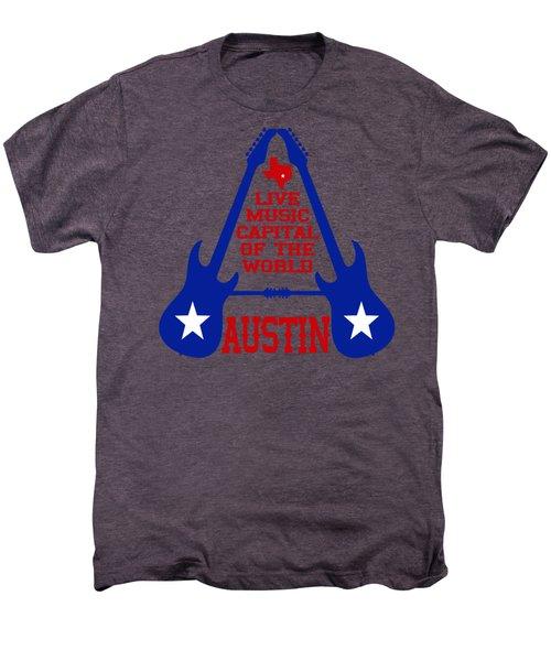 Austin Live Music Capital Of The World Men's Premium T-Shirt