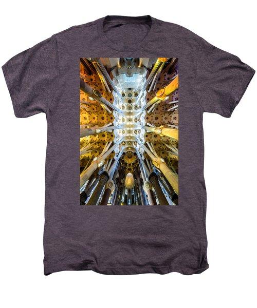 Basilica De La Sagrada Familia Men's Premium T-Shirt