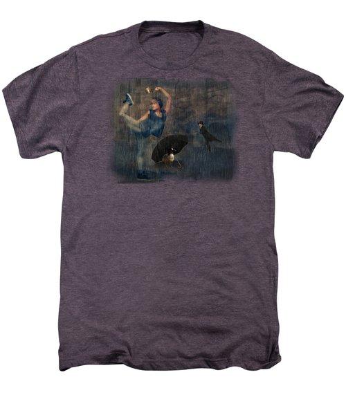 Dancing In The Rain Men's Premium T-Shirt