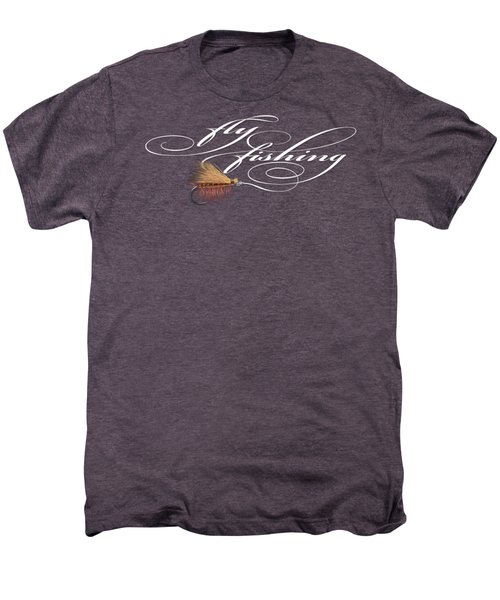 Fly Fishing Elk Hair Caddis Men's Premium T-Shirt