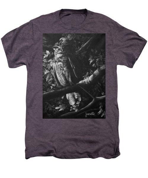 Great Horned Owl Men's Premium T-Shirt