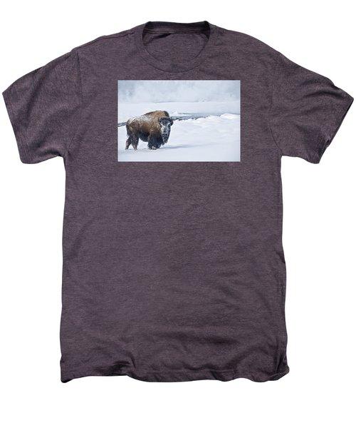 Lone Bison Men's Premium T-Shirt