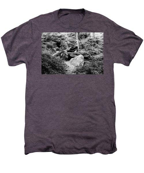 Native American Caves  Men's Premium T-Shirt