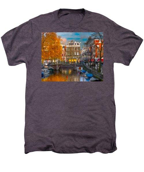 Prinsengracht 807. Amsterdam Men's Premium T-Shirt