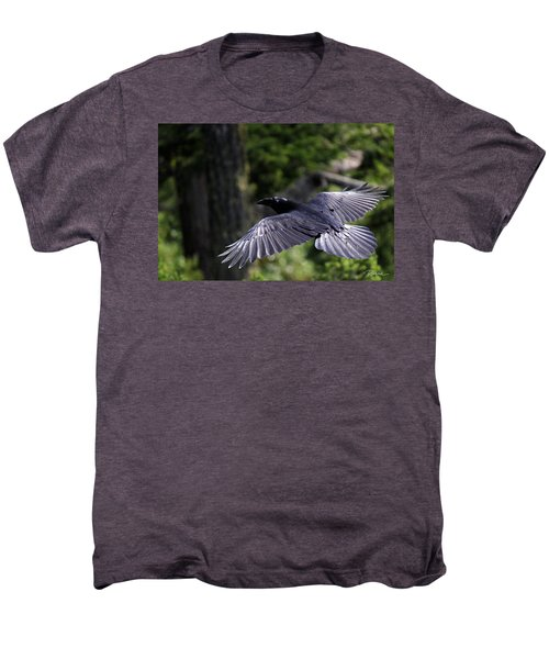 Raven Flight Men's Premium T-Shirt