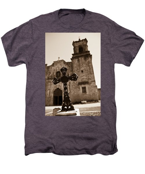 San Antonio Men's Premium T-Shirt by Sebastian Musial