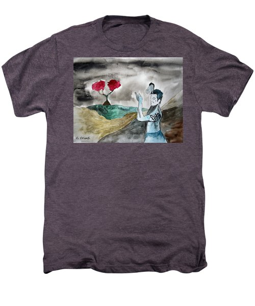 Scott Weiland - Stone Temple Pilots - Music Inspiration Series Men's Premium T-Shirt by Carol Crisafi