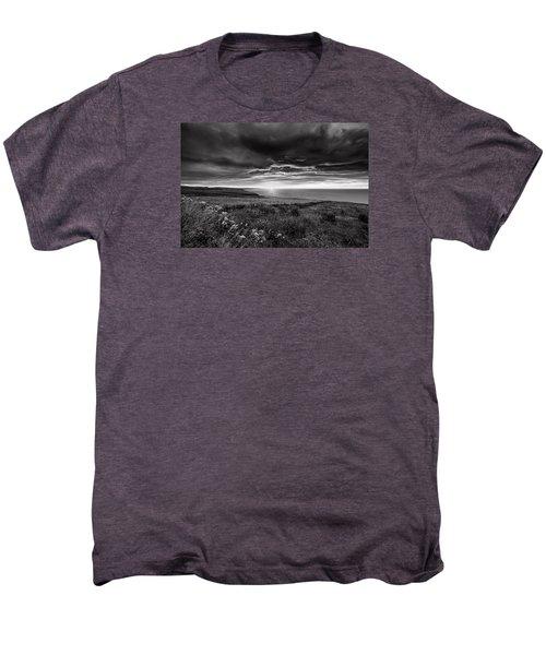 Scottish Sunrise Men's Premium T-Shirt by Jeremy Lavender Photography