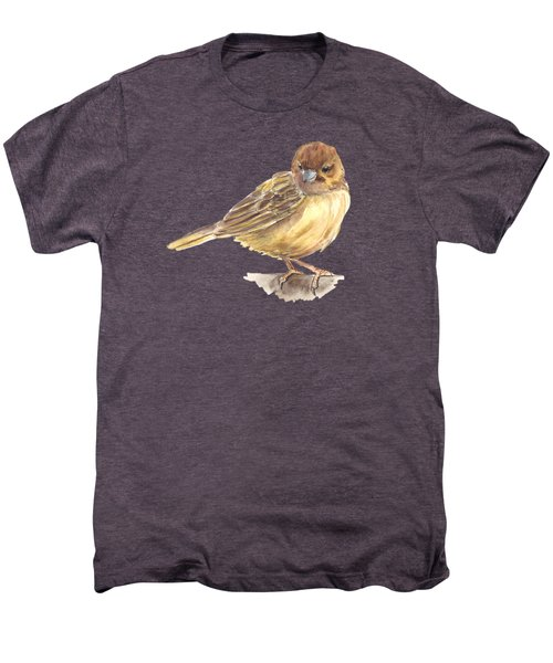 Sparrow Men's Premium T-Shirt by Katerina Kirilova