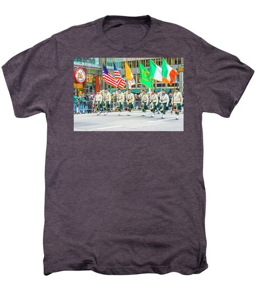 St. Patrick Day Parade In New York Men's Premium T-Shirt