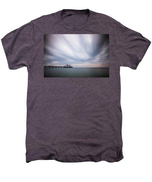 10 Minute Exposure Of Eastbourne Pier Men's Premium T-Shirt