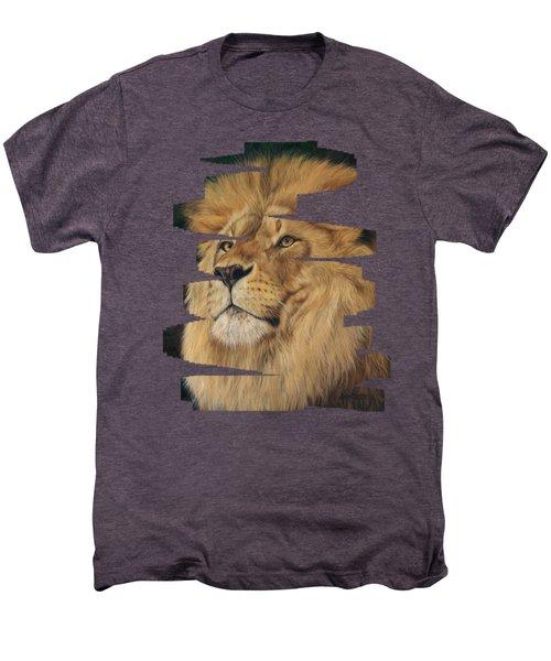 Lion Men's Premium T-Shirt