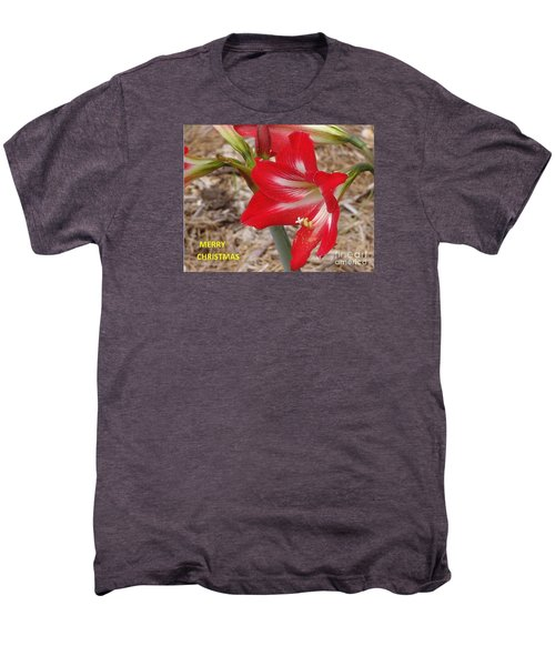 Men's Premium T-Shirt featuring the photograph Christmas Card by Rod Ismay