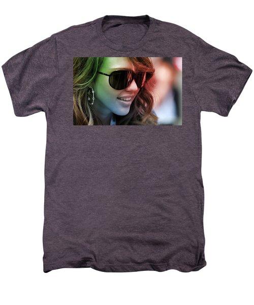 Jessica Alba Men's Premium T-Shirt