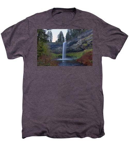 South Falls At Silver Falls State Park Men's Premium T-Shirt