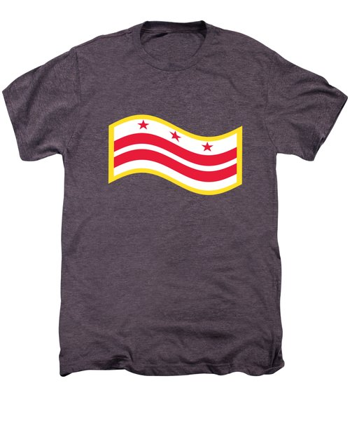 Washington, D.c. Flag Men's Premium T-Shirt by Frederick Holiday