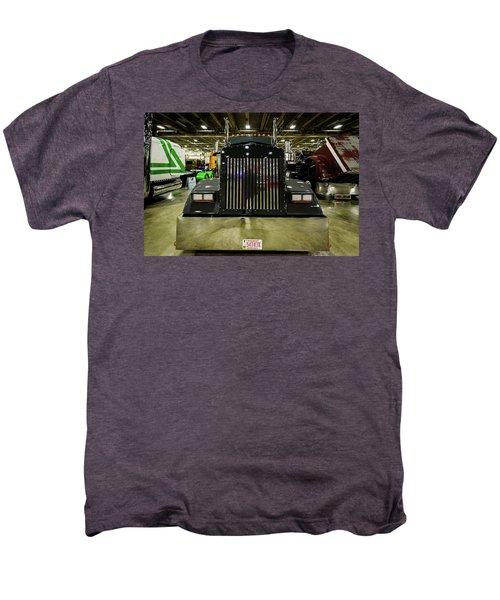Men's Premium T-Shirt featuring the photograph 2000 Kenworth W900 by Randy Scherkenbach