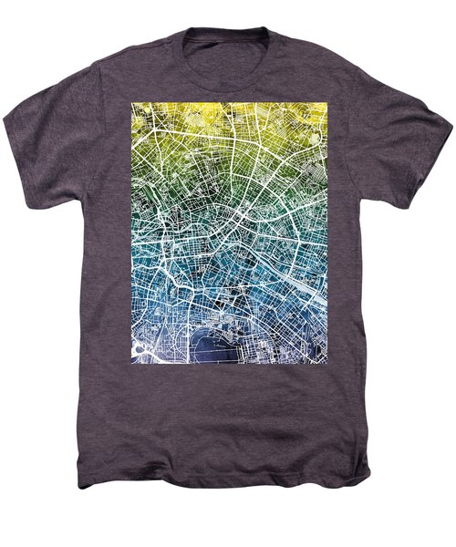 Berlin Germany City Map Men's Premium T-Shirt