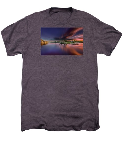 Sunrise At Naples, Florida Men's Premium T-Shirt