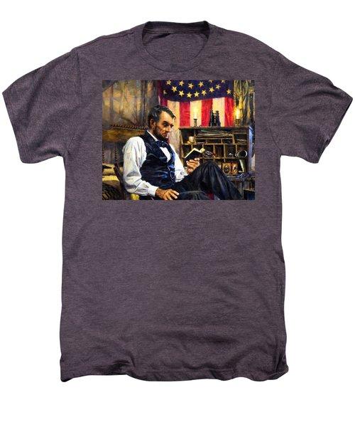 Abraham Lincoln 5 Men's Premium T-Shirt