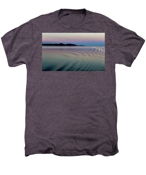 Alaskan Sunset At Sea Men's Premium T-Shirt