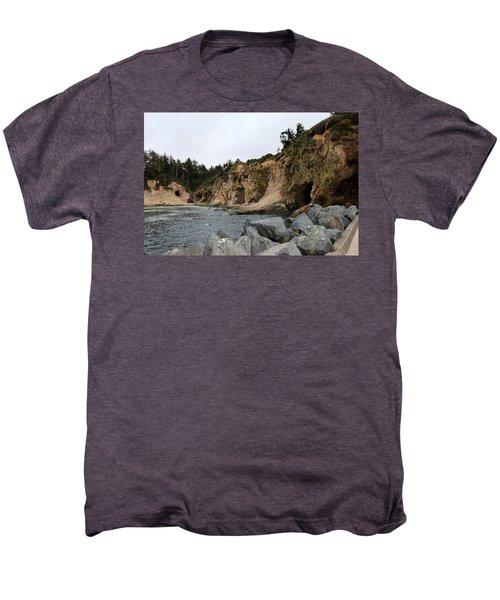 Along The Oregon Coast  Men's Premium T-Shirt