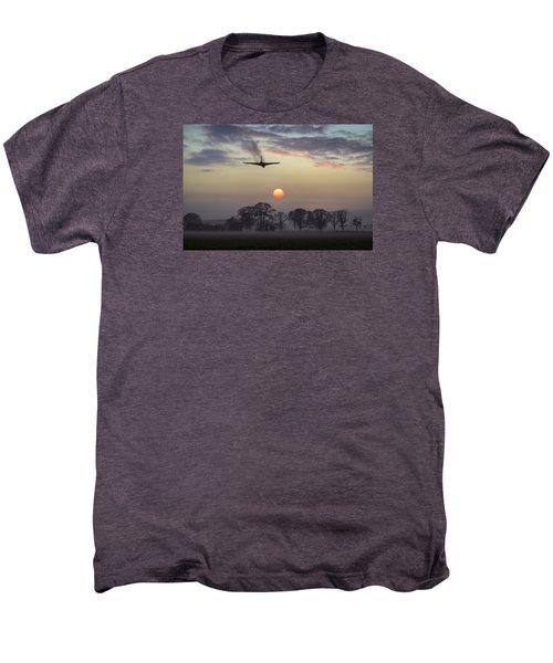 And Finally Men's Premium T-Shirt by Gary Eason