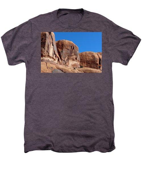 Angry Rock  Men's Premium T-Shirt
