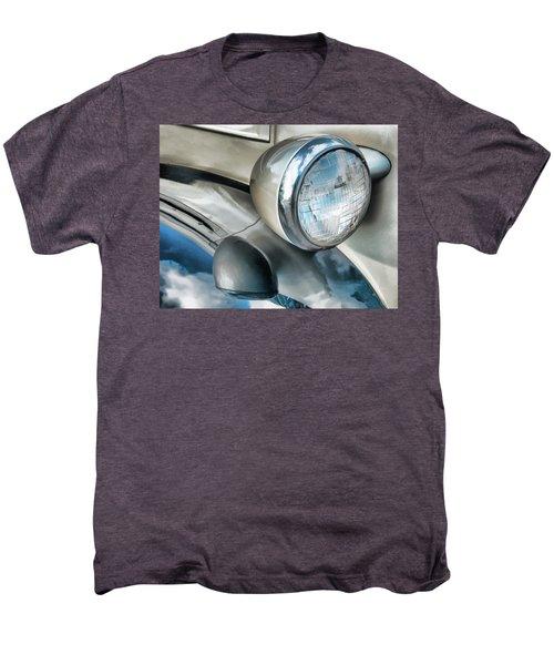 Antique Car Headlight And Reflections Men's Premium T-Shirt
