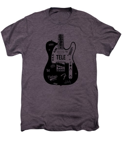 Fender Telecaster 64 Men's Premium T-Shirt by Mark Rogan
