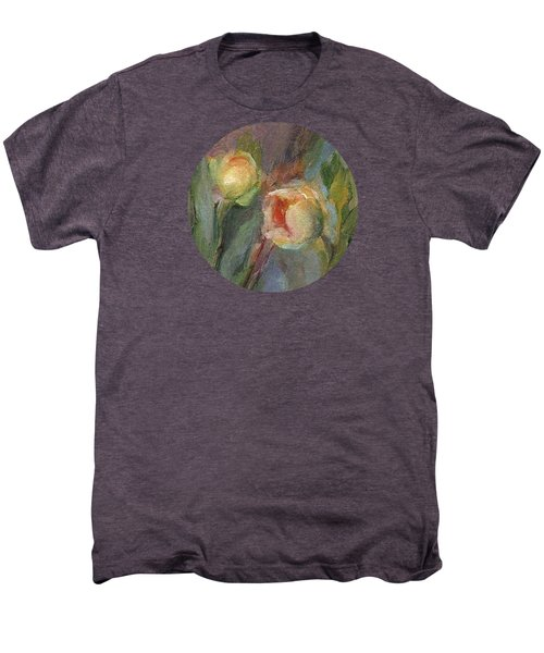Evening Bloom Men's Premium T-Shirt by Mary Wolf