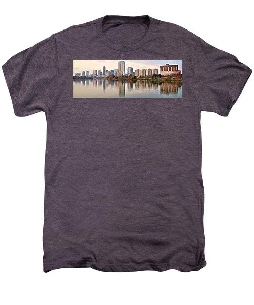 Austin Elongated Men's Premium T-Shirt by Frozen in Time Fine Art Photography