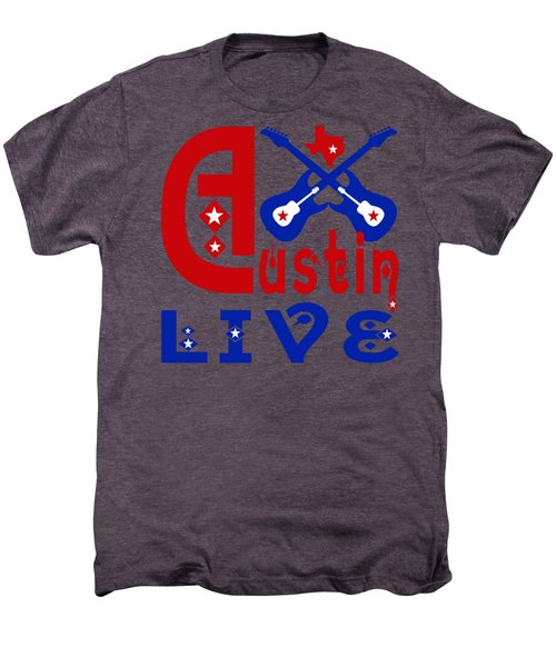 Austin Live Men's Premium T-Shirt by David G Paul