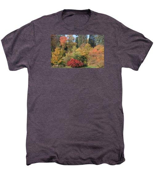 Men's Premium T-Shirt featuring the photograph Autumn In Baden Baden by Travel Pics