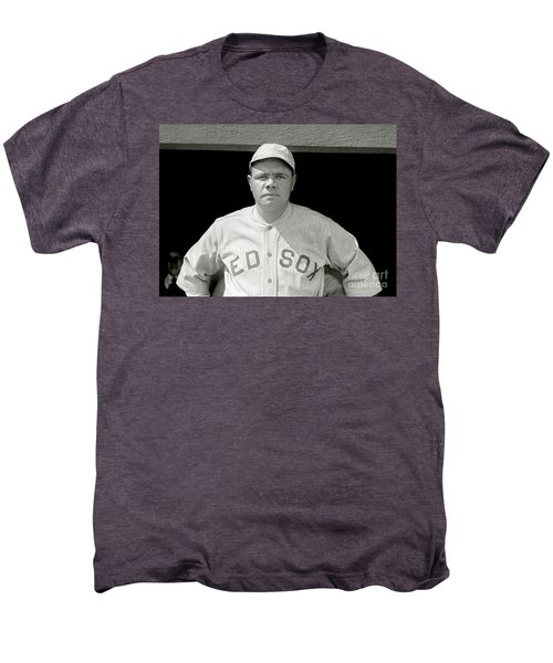Babe Ruth Red Sox Men's Premium T-Shirt