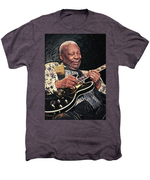 B.b. King II Men's Premium T-Shirt by Taylan Apukovska