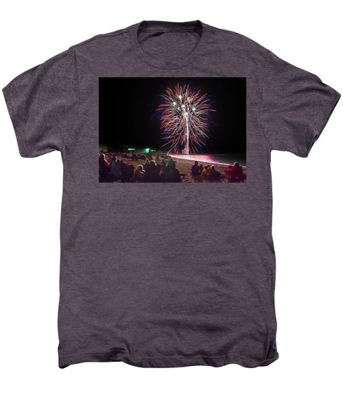 Men's Premium T-Shirt featuring the photograph Beachside Spectacular by Bill Pevlor
