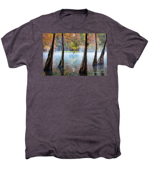 Beavers Bend Cypress Grove Men's Premium T-Shirt
