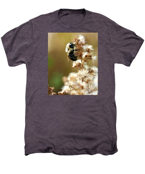 Bee On Goldenrod Men's Premium T-Shirt