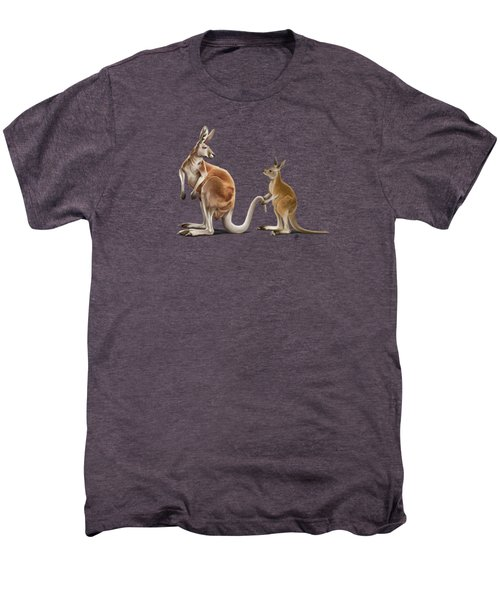 Being Tailed Colour Men's Premium T-Shirt by Rob Snow