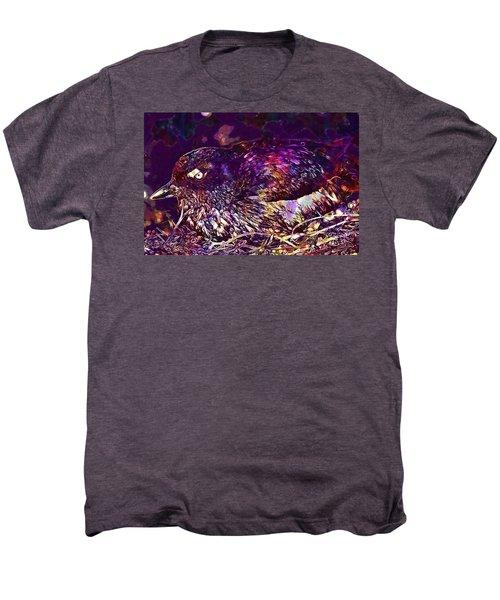 Bird Cassins Auklet Crested Birds  Men's Premium T-Shirt