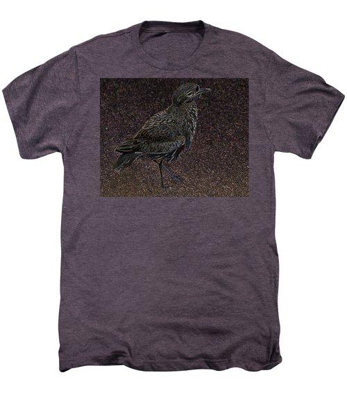 Bird No. 40-1 Men's Premium T-Shirt by Sandy Taylor