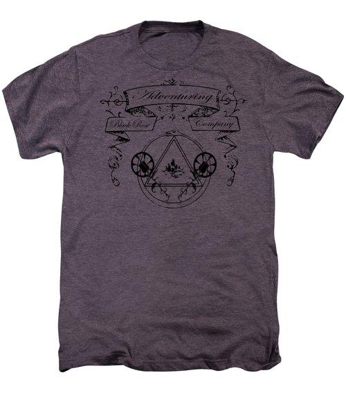 Black Rose Adventuring Co. Men's Premium T-Shirt by Nyghtcore Studio