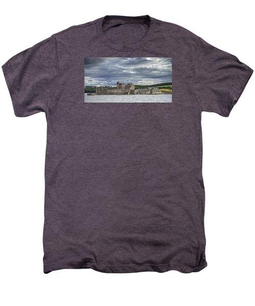 Blackness Castle Men's Premium T-Shirt by Jeremy Lavender Photography