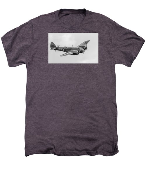 Blenheim Mk I Black And White Version Men's Premium T-Shirt by Gary Eason